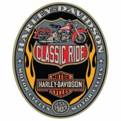 H-D® Classic Ride Oval  - Product Image